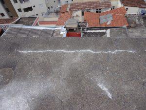 Impermeabilização de lajes antes